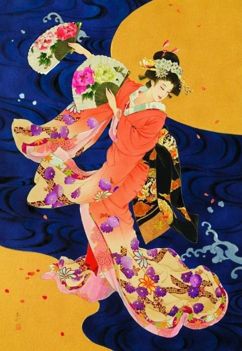 Geisha art - Haruyo Morita