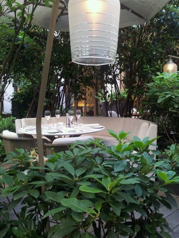 La terrasse du Mandarin Oriental #Paris #Terrasse #MandarinOriental