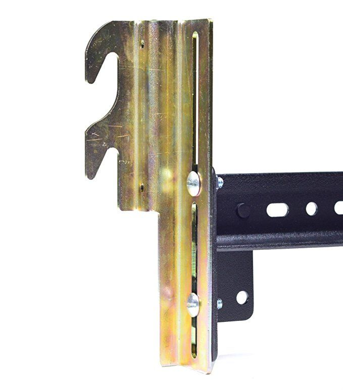 Ronin Factory Hook On Bed Frame Brackets Adapter For Headboard Extra Heavy Duty Set Of 2 Brackets With Hardware 711 Bracket Bolt On To Hook Bed Frame Wooden