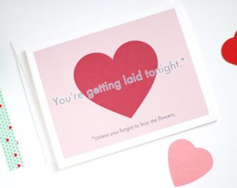 naughty valentines card funny valentines day card by rowhouse14 - Naughty Valentine