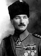 Mustafa Kemal Ataturk, c. 1916. WWII before he would change Turkey forever.
