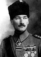 Mustafa Kemal Ataturk, c. 1916. WWII before he would change Turkey forever.