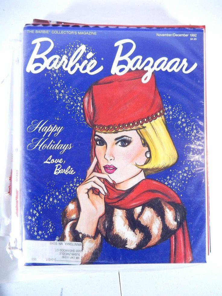 BARBIE DOLL BAZAAR COLLECTOR'S MAGAZINE HAPPY HOLIDAYS NOVEMBER/DECEMBER 1992 | eBay