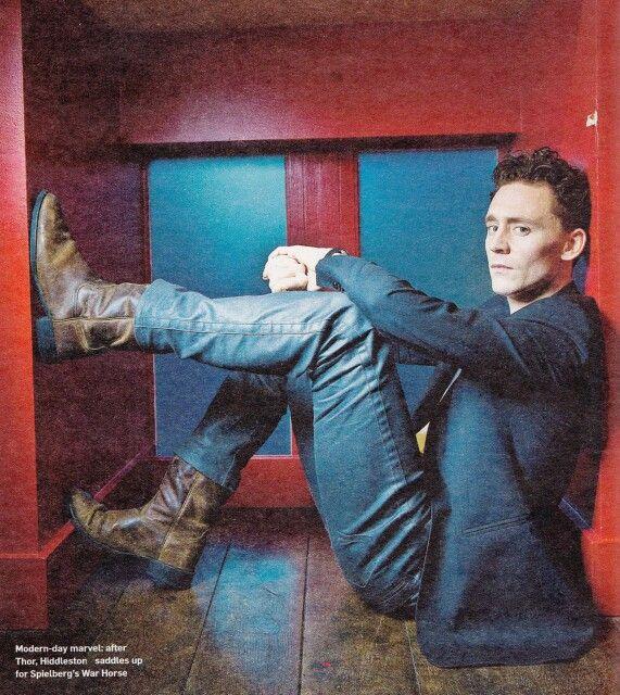 Tom Hiddleston for War Horse