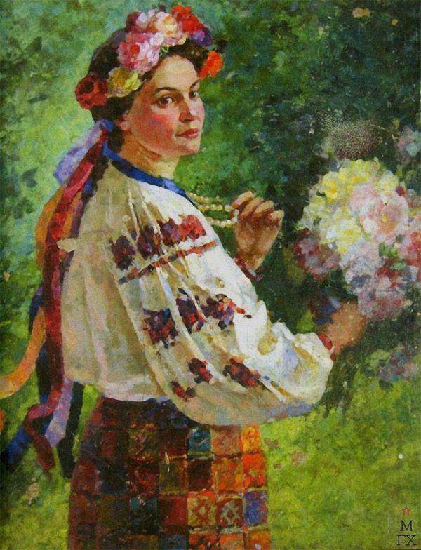Василий Вениаминович Хвостенко (1896-1960) Украинка. 1952 г