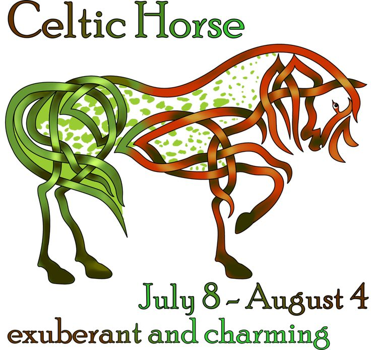 Celtic Horse By KnotYourWorld