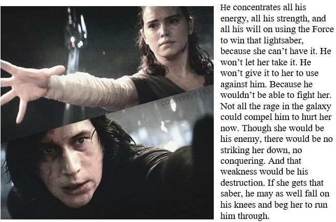 This is actually a good point. He could have easily force choked her or done something else to kill her