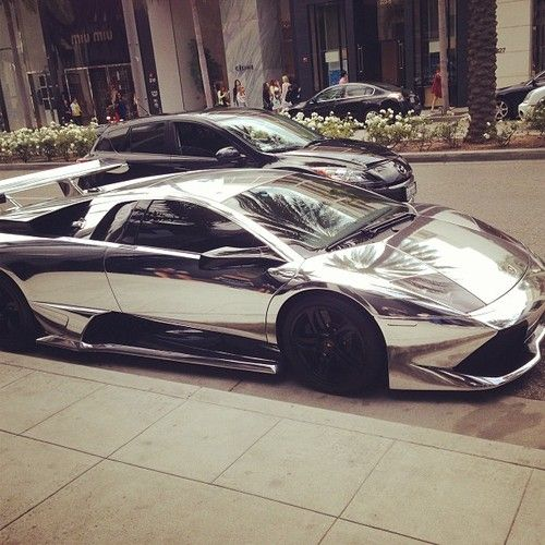 Saw one of these on the Street - I don't even think Floyd Mayweather would be caught dead in it.