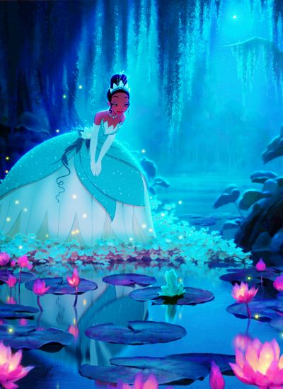"""Did you know? """"The Princess and the Frog"""" (2009) features various tributes to previous films. During the song """"Down in New Orleans"""" the carpet from Aladdin is being shaken up on a balcony, and the Mardi Gras parade float is modeled after King Triton from """"The Little Mermaid""""! #Disney #Trivia"""