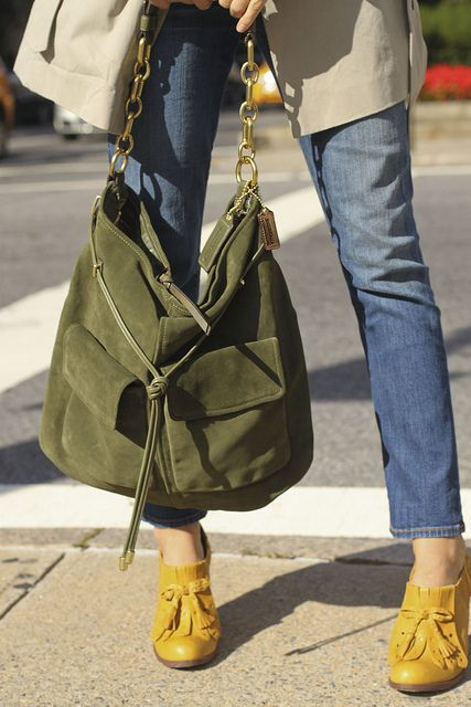boots and bag!!! love the colors together.  MUST HAVE THEM!!