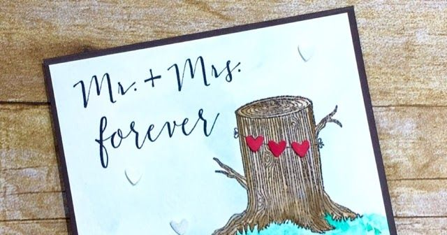 Always & Forever, Cardbomb, Stampin Up! Mr. & Mrs. Forever! What a great title for any couple! I have really been loving this Always & Forever set for making some fun wedding and ...
