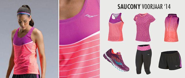 #Saucony Running collectie 2014 bij Hardloopaanbiedingen.nl #hardlopen