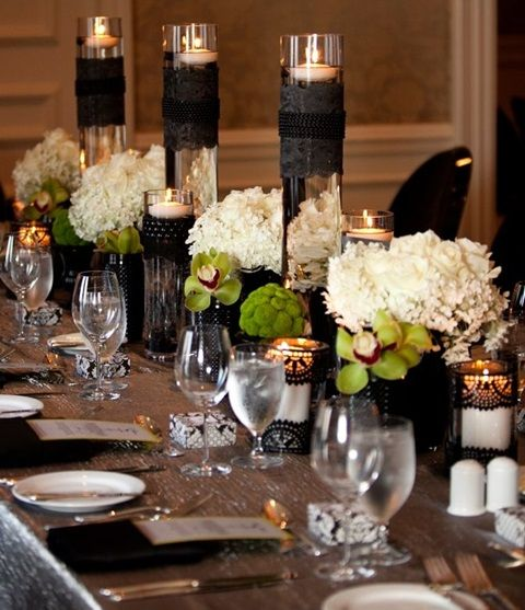 Wedding Table Setting Ideas 20 impressive wedding table setting ideas Find This Pin And More On Royal Table Ideas Spooky But Elegant Halloween Wedding Table Settings