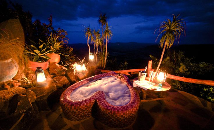 Want to propose in #Kenya? Ol Malo Lodge - perfect for guided nature walks and game drives or to explore the area on horseback or on camel rides. Enjoy bush picnics, sundowner drinks, or simply wait to see what appears at the nearby waterhole. And when things heat up, relax and take a dip in the lodge's infinity swimming pool, complete with spectacular views. #Africa #Romance #proposal