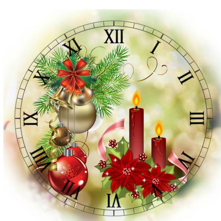 Создать часы можно не только в виде круга, но и в форме квадрата.
