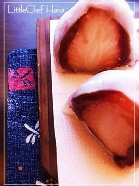 「お家で簡単【苺大福】」kanatable | お菓子・パンのレシピや作り方【corecle*コレクル】
