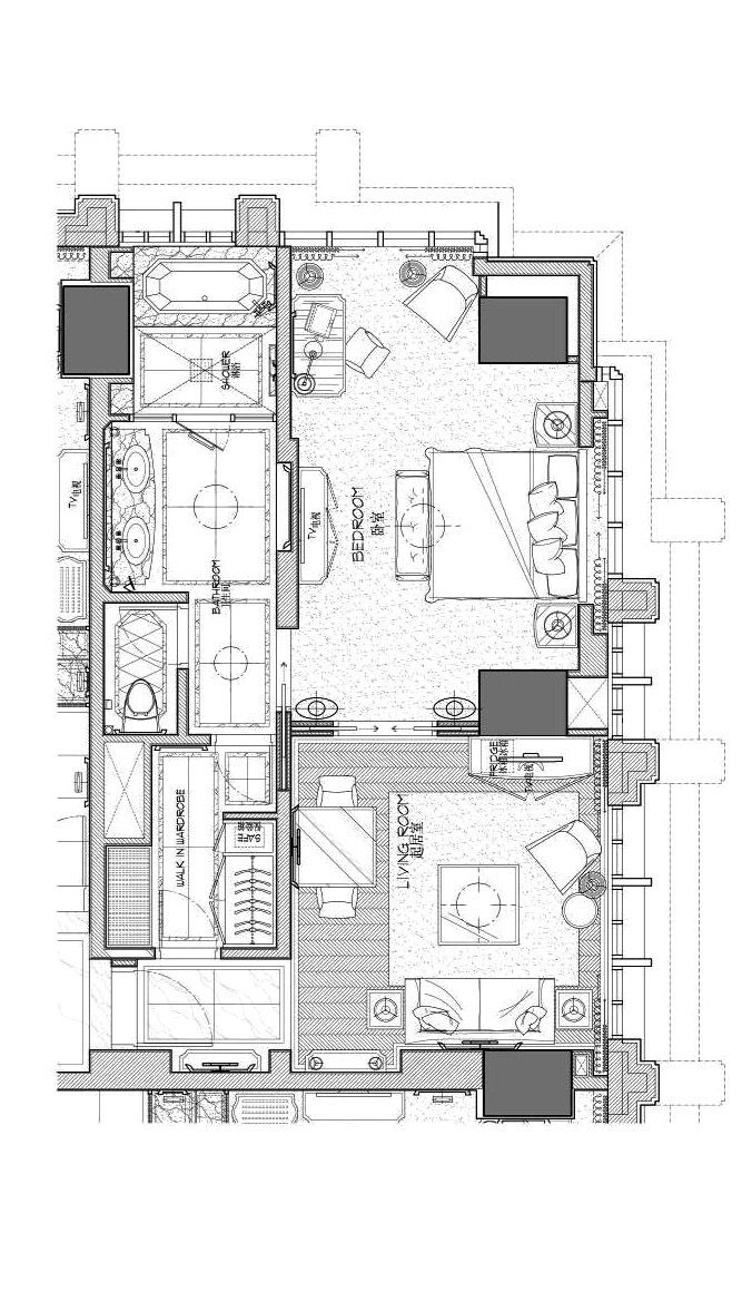 Hotel Room Floor Plan: Pin By Haile Lee On Hotel Room Plans In 2019