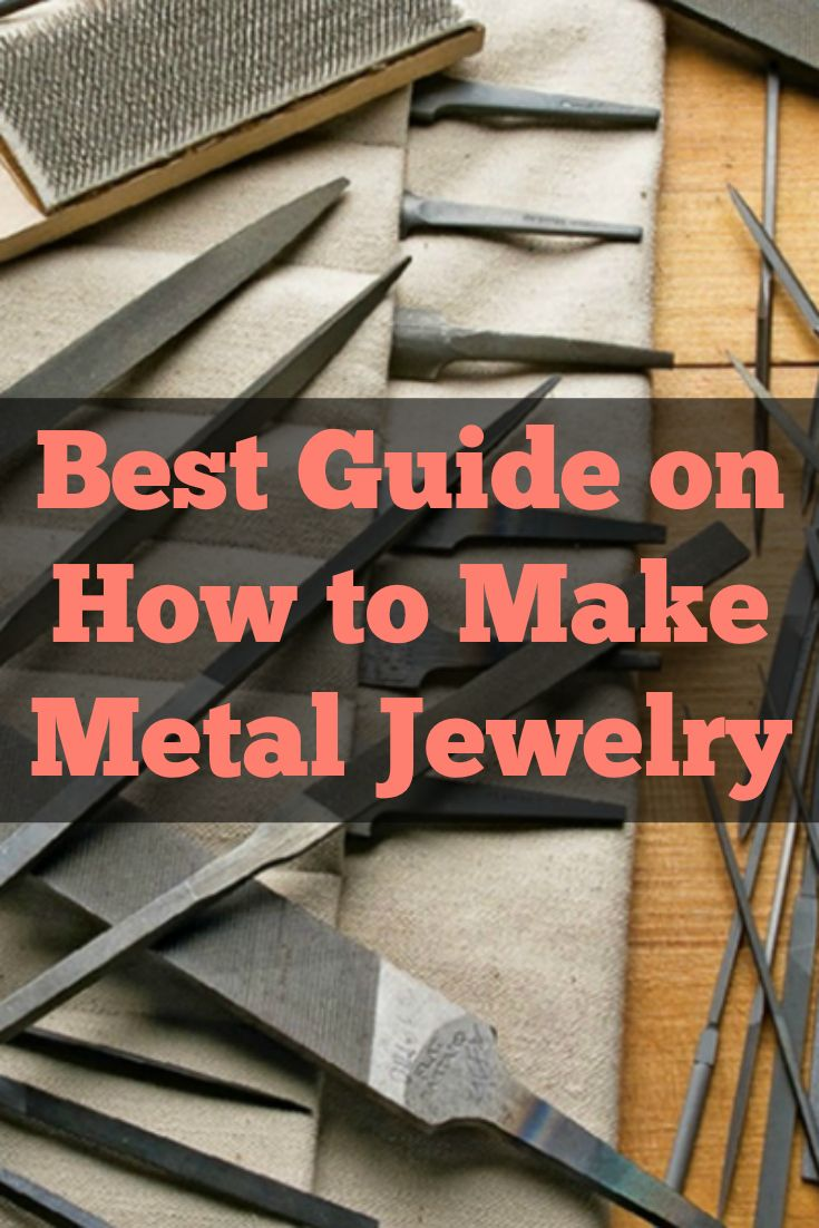 Metal jewelry making will never be the same again after reading these expert tips on how to make metal jewelry! #diyjewelry #jewelrymaking #metaljewelry