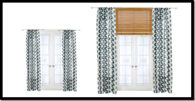 Pairing drapes with textured blinds - Cotes de Texas Blog