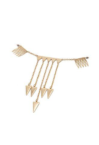 Gold Arrow Hair Clip | FOREVER21 - 1000099975 $6