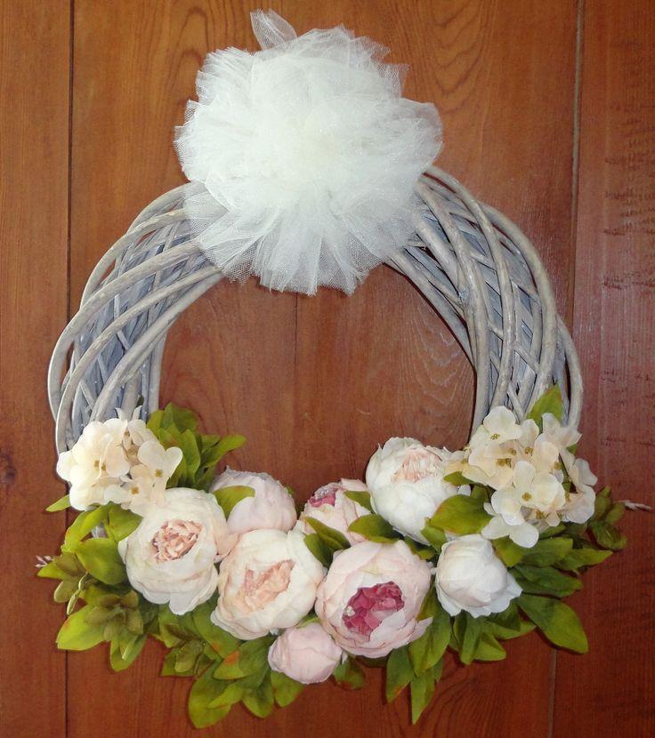 1000 id es sur le th me couronnes de porte sur pinterest for Decoration porte entree pour mariage
