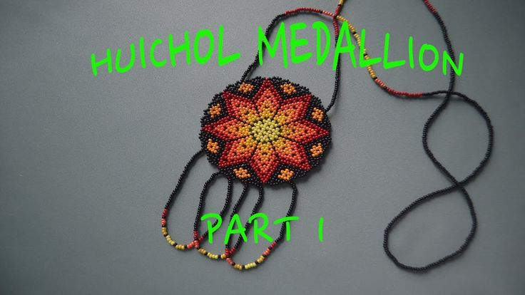 Enjoy creating this beautiful outstanding Huichol Design, experiment with the colours and make sure you find more of our Huichol Beading Tutorials on the Cha...