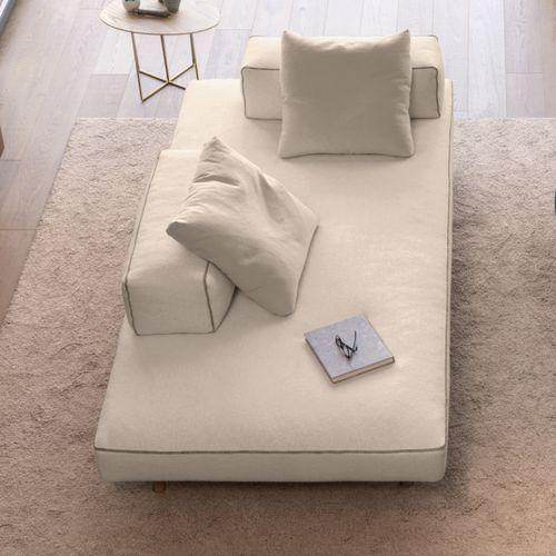 Contemporary Sofa / Wood / Cotton / By Marc Sadler ENDOR Désirée