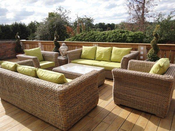 Außergewöhnlich Poly Rattan Garten Möbel Sofa Set