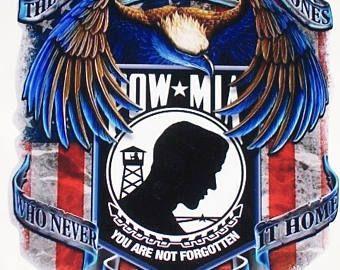 American Flag Attack Eagle 2 RV motorhome Wall Window Graphic