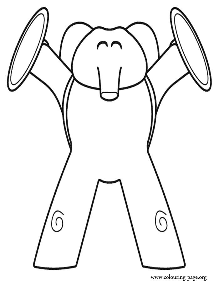 pocoyo coloring pages - Pocoyo Friends Coloring Pages