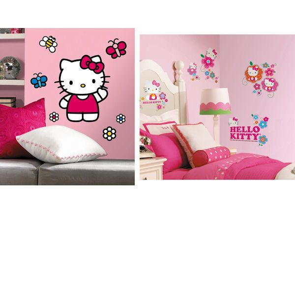 Hello Kitty Decal Room Package #2   Wall Sticker Outlet
