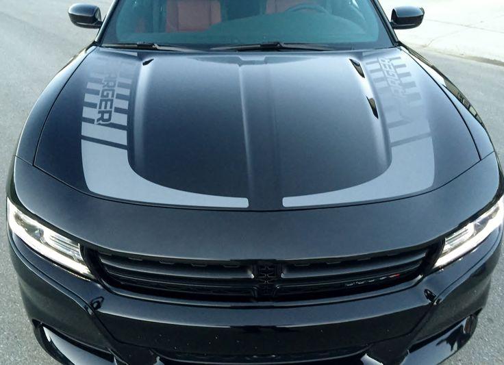 2015 2020 Dodge Charger Hockey Stick Hood Stripes Design