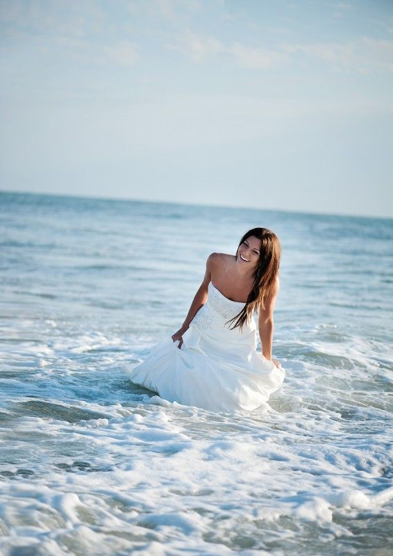 Post-wedding fun <3 #wedding #beach #ocean #photography #inspiration