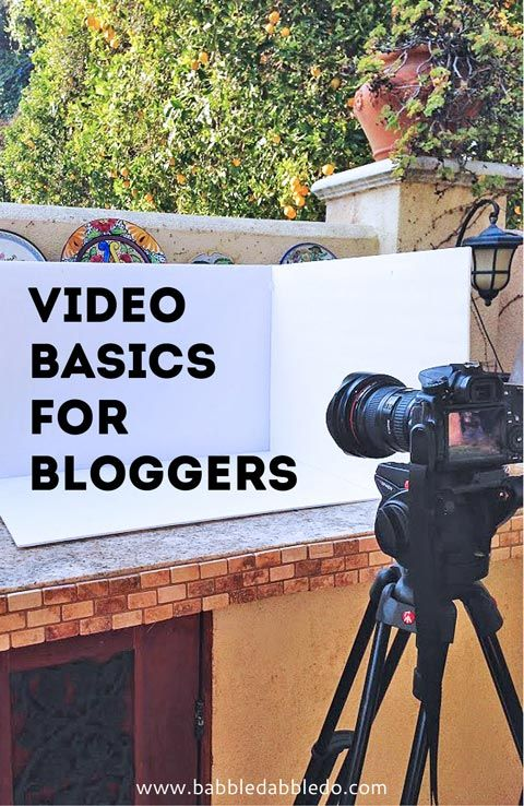 how to make a youtube video :: video skills for bloggers :: how to make a craft video