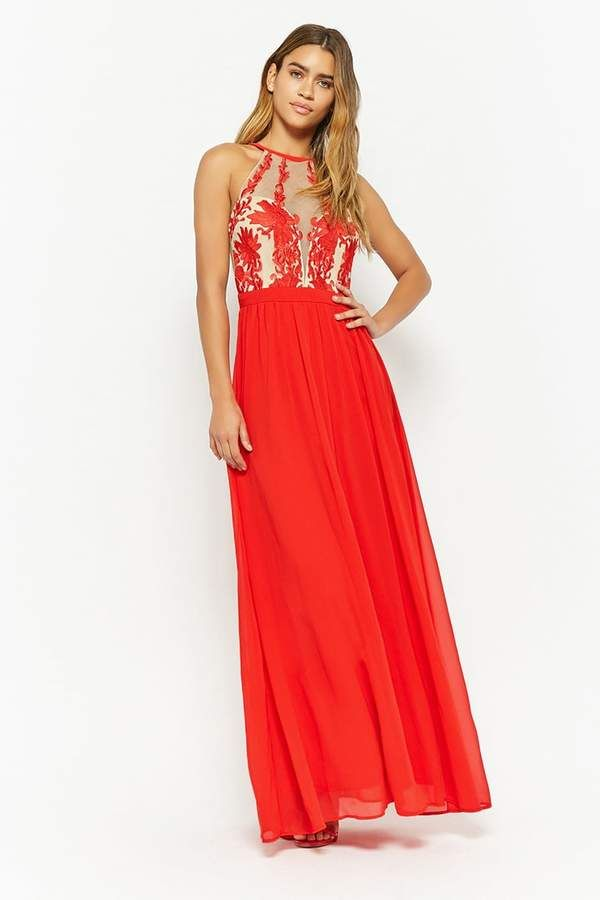 ecbd9a7c4bc  68 Forever 21 Floral Embroidered Maxi Dress  ad