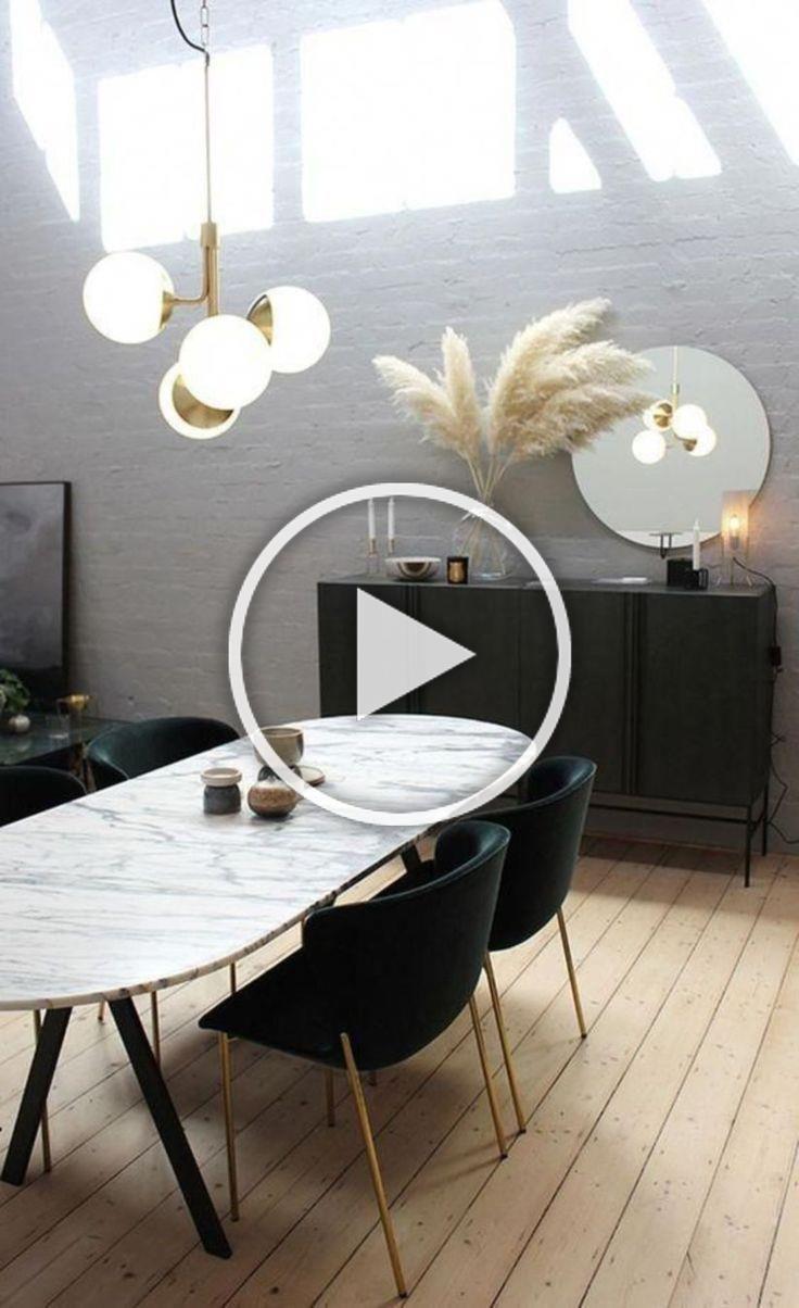 Vous Devez Voir Cette Merveilleuse Salle A Manger Avec Des Meubles De Luxe Pour Vous Aider A Ameliorer Le Decor De Vot In 2020 Decor Contemporary Home Decor Home Decor