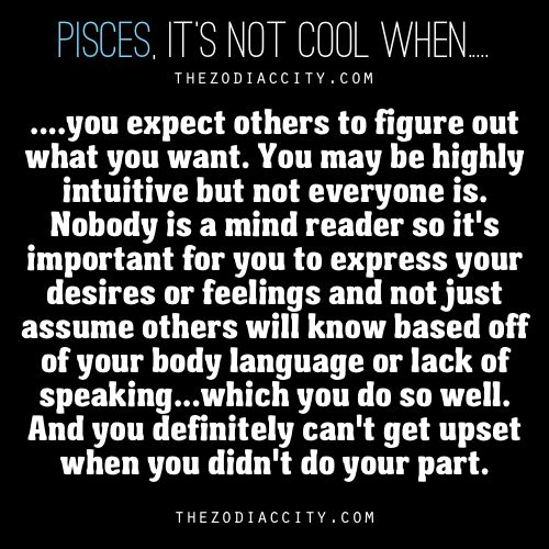 Uh... this is true... I did expect people to get it sometimes by small hints, comments, body language. I sometimes don't understand why they don't. :-(