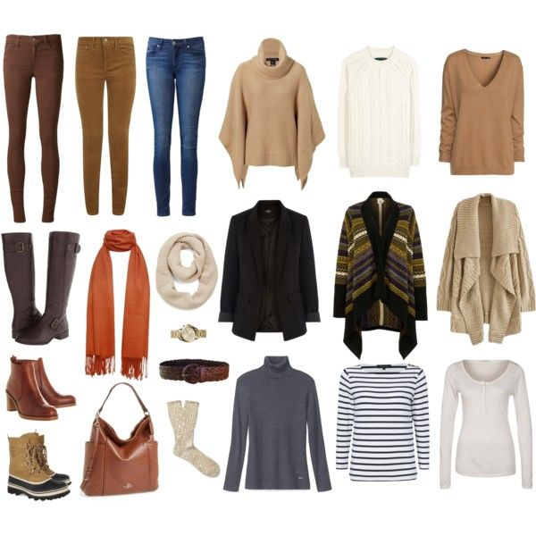 Brown Skinnies in Winter by woxy on Polyvore featuring Tory Burch, Yumi, Jaeger, H&M, rag & bone, True Religion, Oasis, Ralph Lauren Black Label, Polo Ralph Lauren and Joe's Jeans