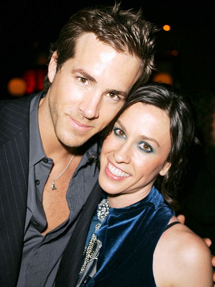 RYAN REYNOLDS and Alanis Morissette before Blake Lively