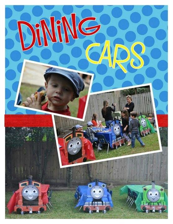 Thomas the Train Dining Cars