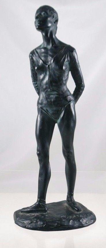 Vintage Tony Cipriano The Ballerina Ballet Dancer Statue Sculpture Figure Women