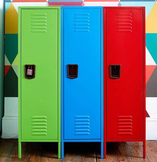 Retro Storage Locker - Tall