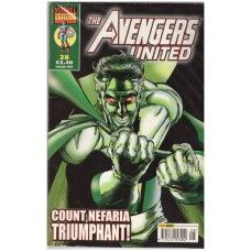 The Avengers United #28 from Marvel/Panini Comics UK. 2nd July 2003 issue. In very good condition internally and cover. Bagged and boarded. £2.00