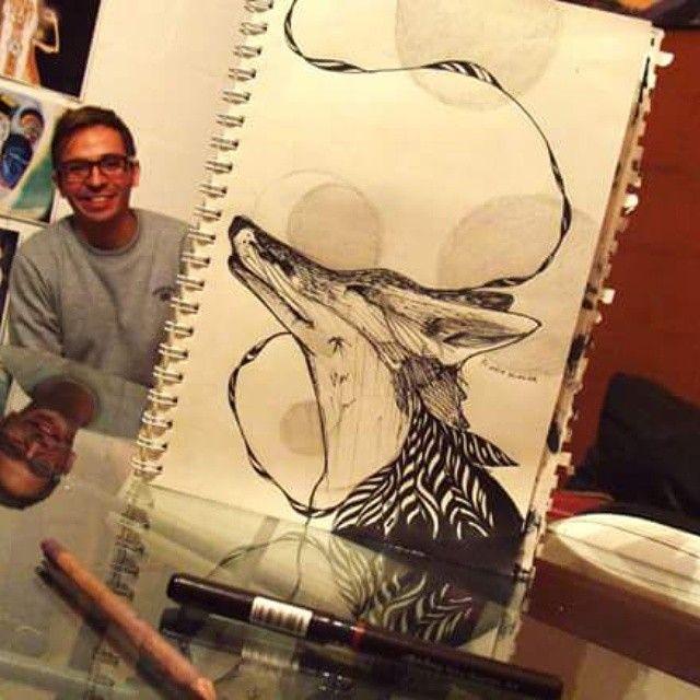 #dibujando #dibujo #Art #arte #drawing #draw #ilustracion #illustration #zorro #fox