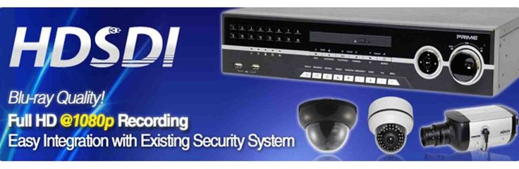 HDSDI cameras and DVR from dvrunlimited.com