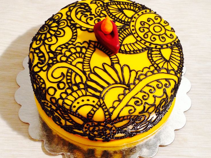Mehndi Cake Tutorial : Best amazing cakes images petit fours