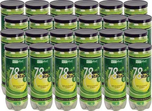 Quick Start 78 Tennis Balls - Case/24 Cans