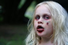 easy zombie makeup kids