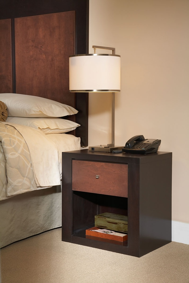 Karri Collection: http://www.hospitalitydesigns.com/products/casegoods/collections/karri  #nightstand #bedroom #furniture #hotelfurniture #hotels #resorts #lamps