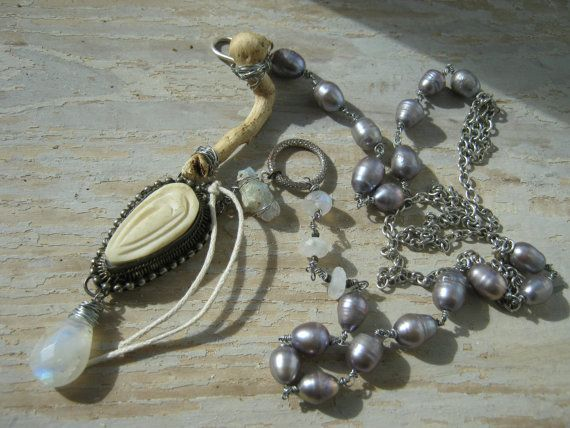 Capricious Necklace by KaRaExquisiteJewelry on Etsy